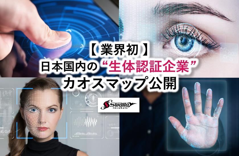日本国内の生体認証企業カオスマップ