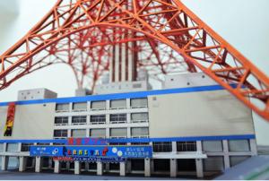 ペーパークラフトの東京タワー