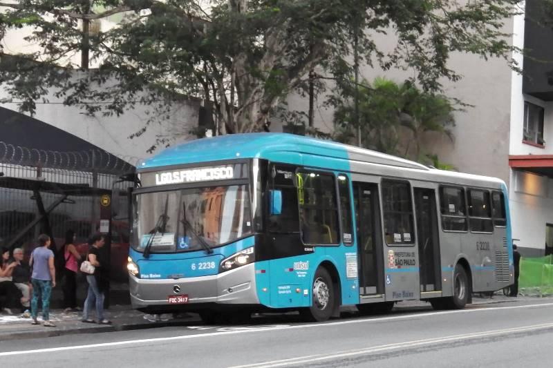 ブラジルの路線バス