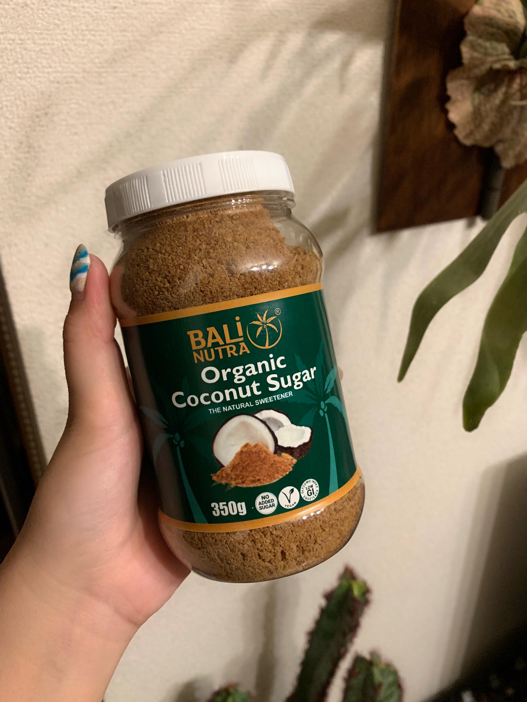 自宅用にはBALI NUTRAのココナッツシュガー