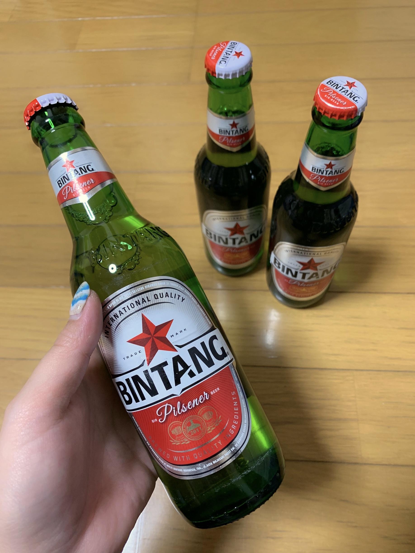 でた!ビンタンビール!!