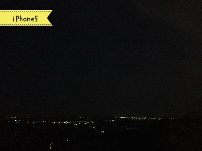 iPhone5で撮った夜景