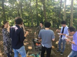 BBQの様子⑤