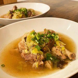ポークスペアリブの中華風煮込みスープ