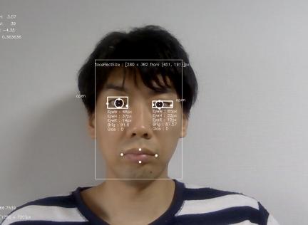 サンプルアプリ起動画面