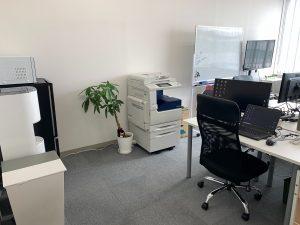 移転後のオフィス